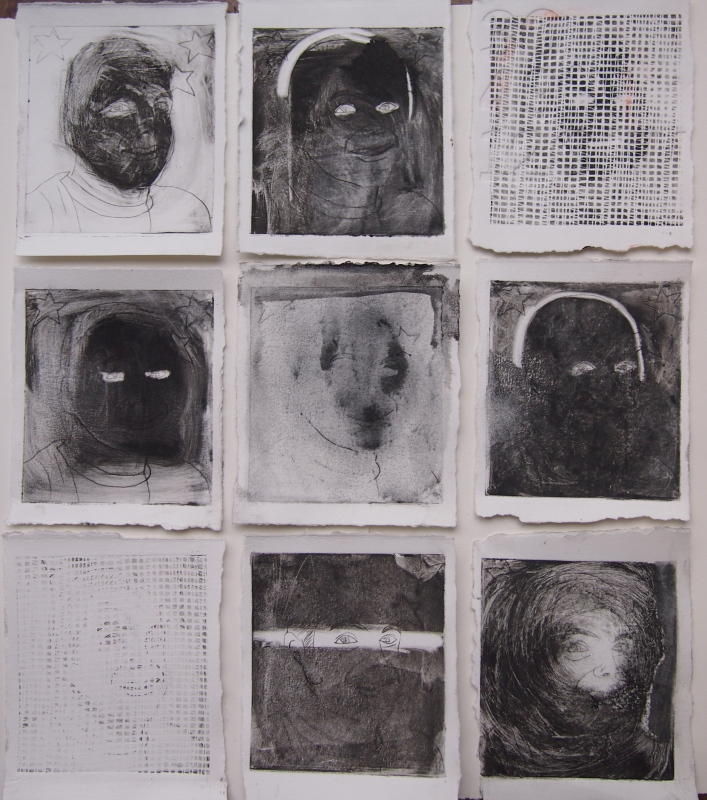 Dry point grid