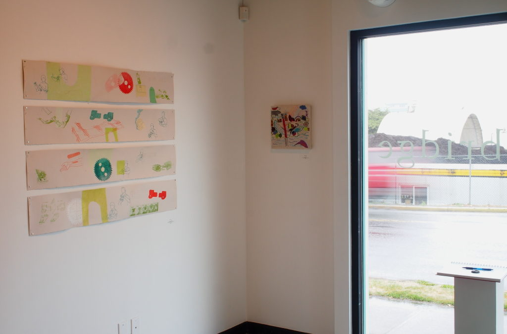 Bridge, a member show at Arc-Hive